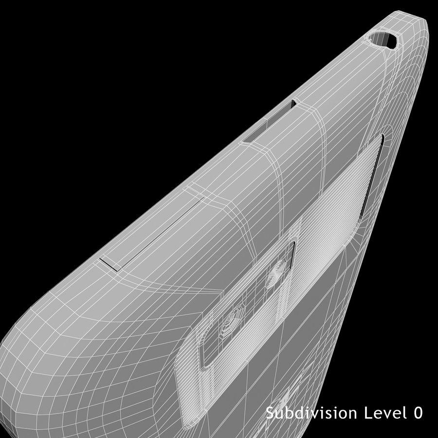 Wersja HTC Desire 400 Black royalty-free 3d model - Preview no. 21
