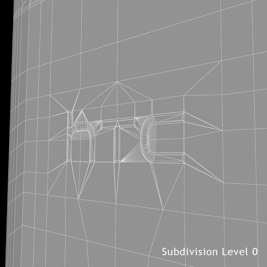 HTC Desire 400ライトブルーバージョン royalty-free 3d model - Preview no. 28