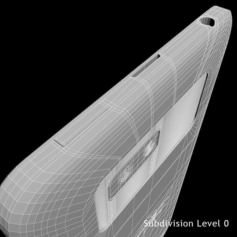 HTC Desire 400ライトブルーバージョン royalty-free 3d model - Preview no. 26