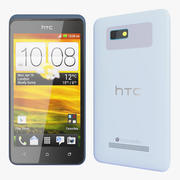 HTC Desire 400 Light Blue Version 3d model