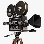 Кинокамера 3d model