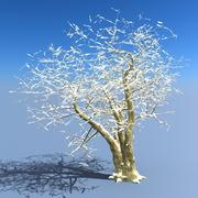 Árbol de invierno (7) modelo 3d