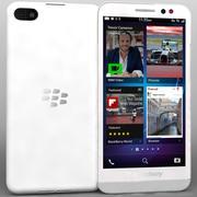 BlackBerry Z30 Blanco modelo 3d