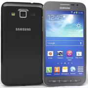三星Galaxy Core Advance黑色 3d model