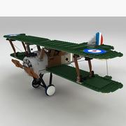LEGO Sopwith Camel 3d model