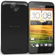 HTC Desire 501 Black 3d model