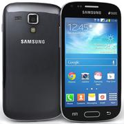 Samsung Galaxy S Duos 2 & Trend Plus Black 3d model