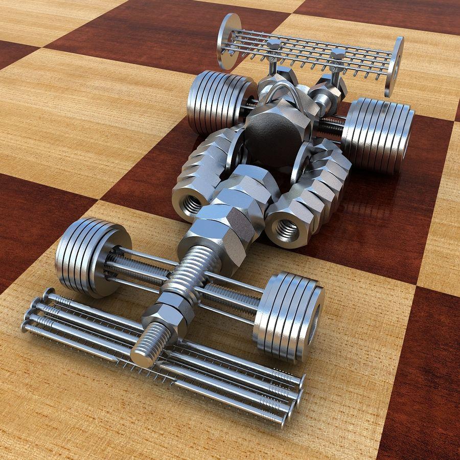 Formule 1 royalty-free 3d model - Preview no. 2