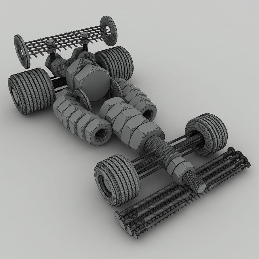 Formule 1 royalty-free 3d model - Preview no. 6