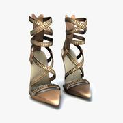 Versace Heels 3d model