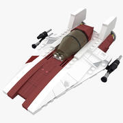 Lego A-Wing StarFighter 3d model