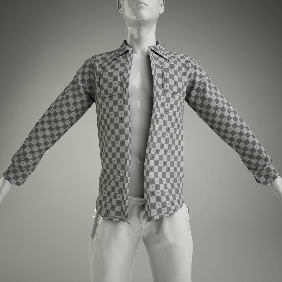 merda do homem (manequim não incluído) royalty-free 3d model - Preview no. 4