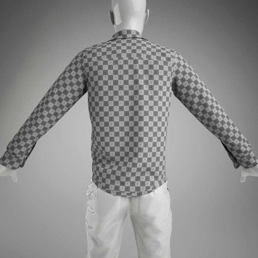 merda do homem (manequim não incluído) royalty-free 3d model - Preview no. 6