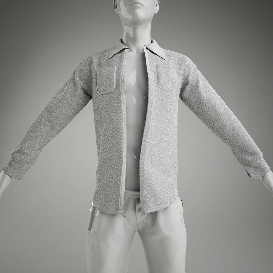 merda do homem (manequim não incluído) royalty-free 3d model - Preview no. 7