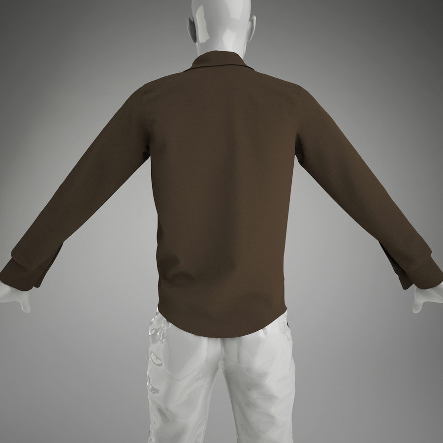 merda do homem (manequim não incluído) royalty-free 3d model - Preview no. 3