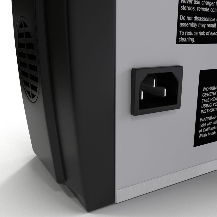 Battery Charger Schumacher royalty-free 3d model - Preview no. 19