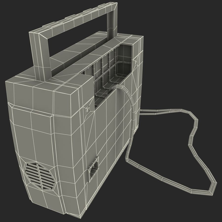 Battery Charger Schumacher royalty-free 3d model - Preview no. 30