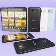 HTC Desire 400 Todas as Cores 3d model