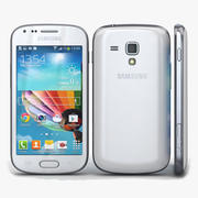 Samsung Galaxy S Duos 2 & Trend Plus White 3d model
