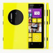 Nokia Lumia 1020 Amarelo 3d model