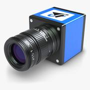 Videocamera GigE Machine Vision 3d model