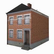 Casa de la calle modelo 3d