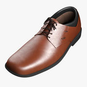 Zapato formal modelo 3d