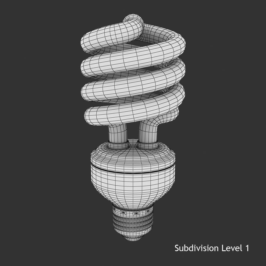 Fluoreszierend royalty-free 3d model - Preview no. 8