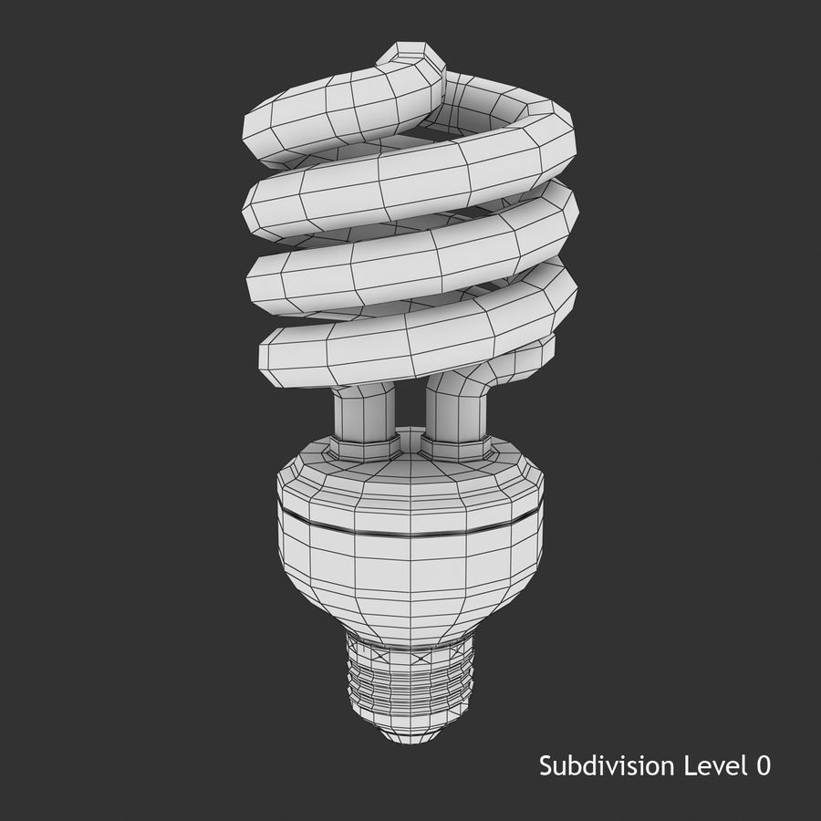 Fluoreszierend royalty-free 3d model - Preview no. 7