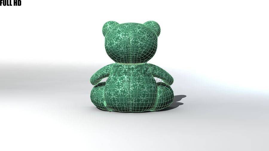 Urso royalty-free 3d model - Preview no. 10