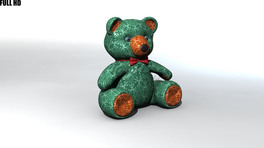 Urso royalty-free 3d model - Preview no. 9