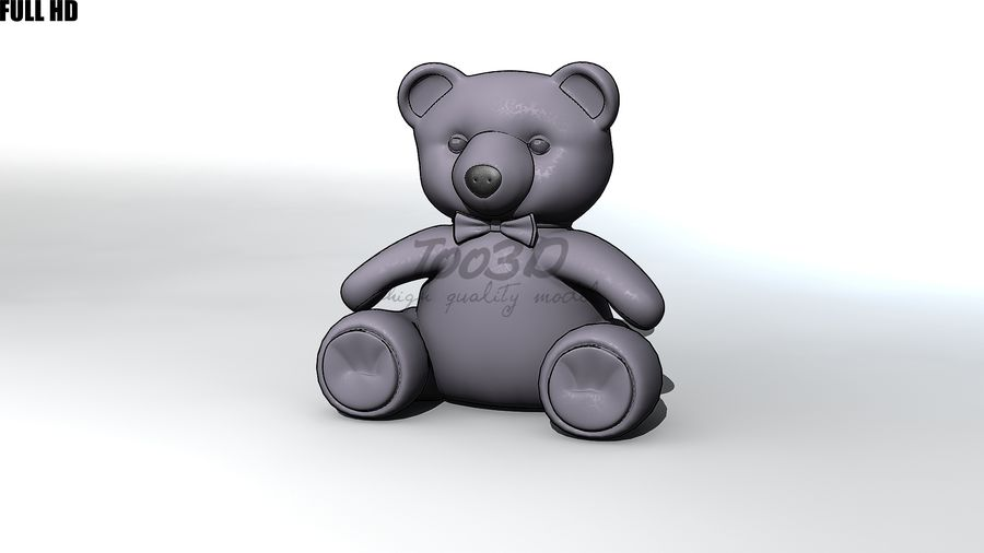 Urso royalty-free 3d model - Preview no. 2