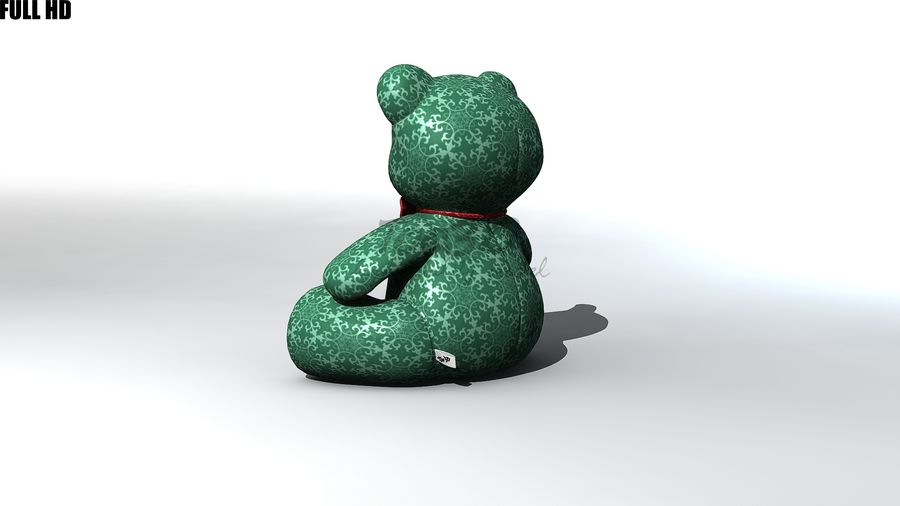 Urso royalty-free 3d model - Preview no. 7