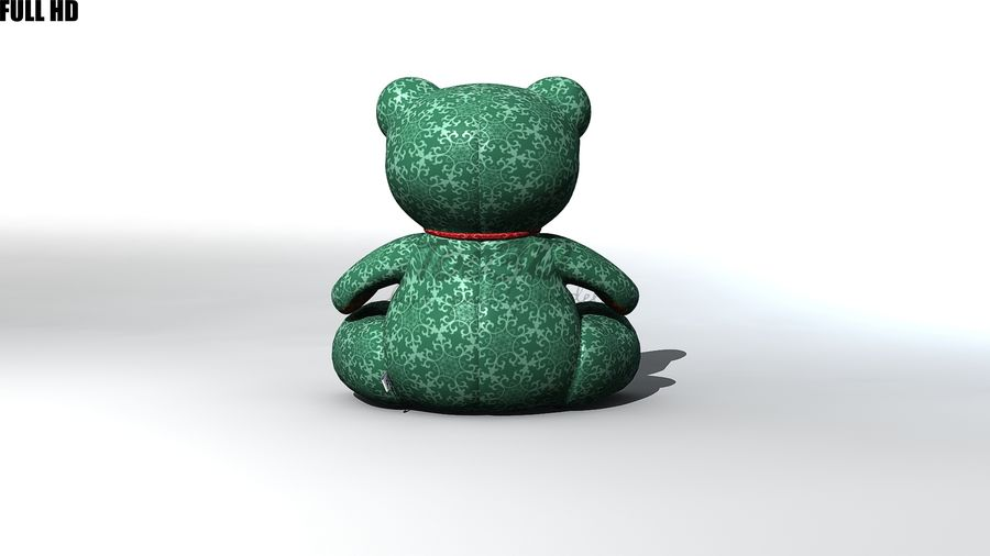Urso royalty-free 3d model - Preview no. 6