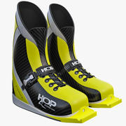 Ski Jumping Boots(1) 3d model