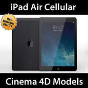 iPad Air Cellular C4D 3d model