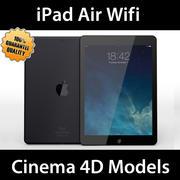 iPad Air Wifi C4D 3d model