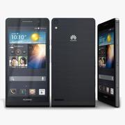 Huawei Ascend P6 S Preto 3d model