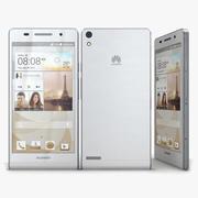 Huawei Ascend P6 Sホワイト 3d model