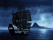 Het Black Pearl-schip 3d model