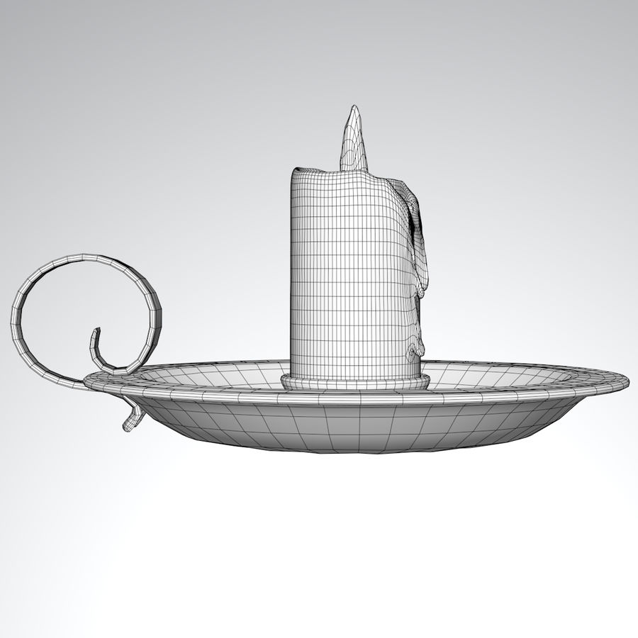 Mumluk Şamdan royalty-free 3d model - Preview no. 8