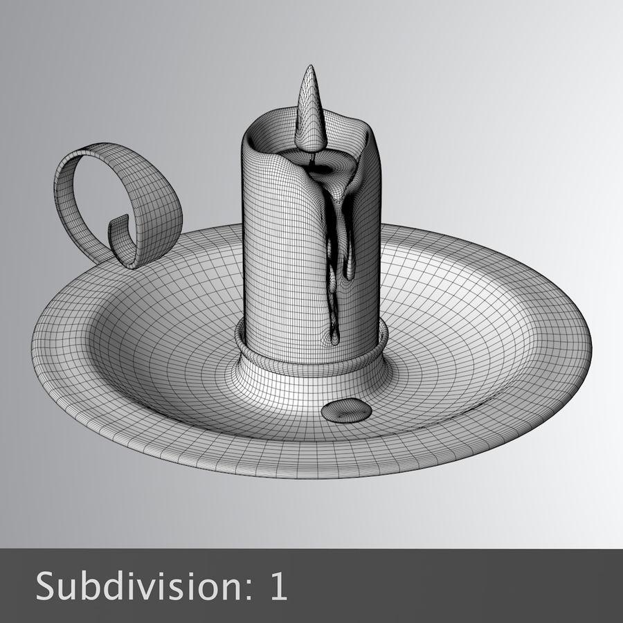 Mumluk Şamdan royalty-free 3d model - Preview no. 10
