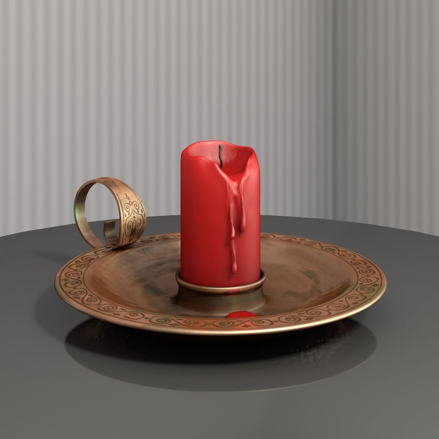 Mumluk Şamdan royalty-free 3d model - Preview no. 1