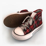 Sneakers Converse All Star 3d model