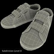 Eski ayakkabılar 3d model