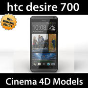 htc desire 700 dual sim 3d model