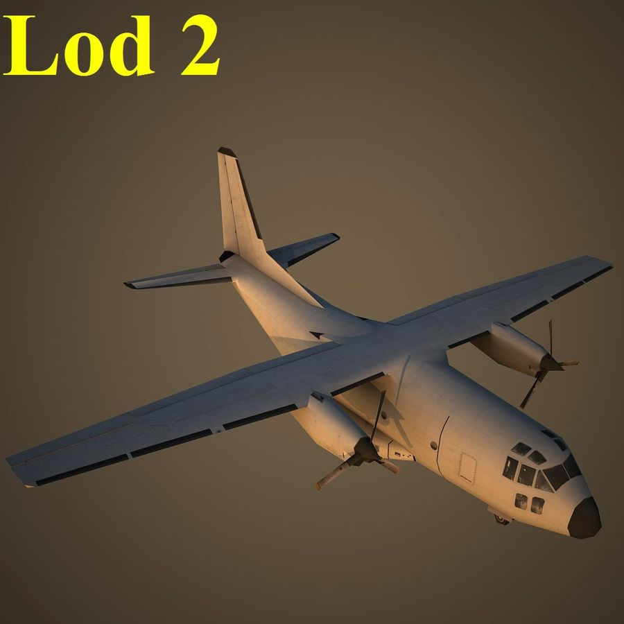 G222 royalty-free 3d model - Preview no. 15