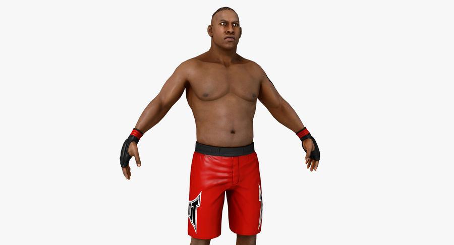 UFC Boxer royalty-free 3d model - Preview no. 2