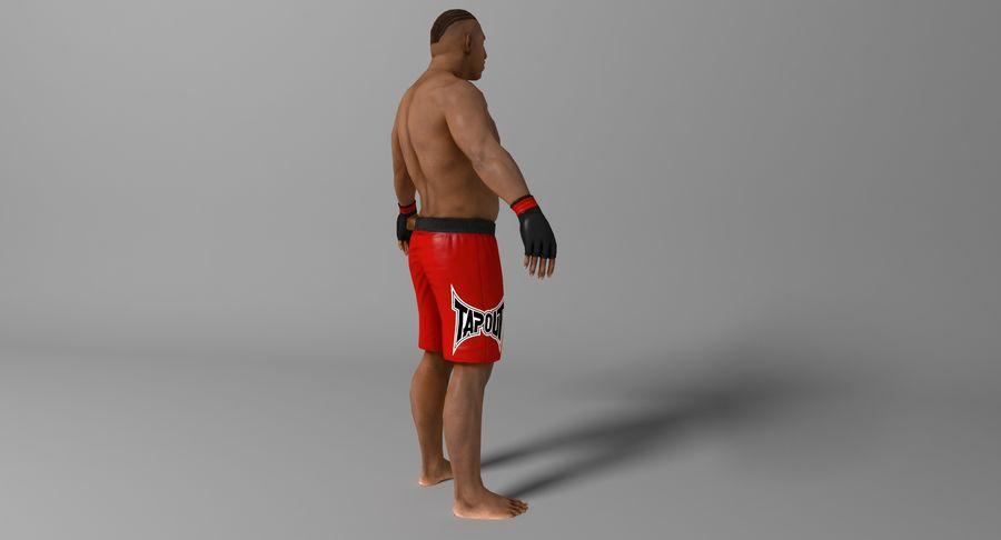 UFC Boxer royalty-free 3d model - Preview no. 7