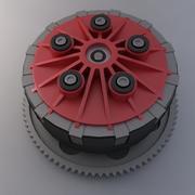 Embrayage Ducati 3d model